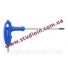 Ключ торцевой L-образный Torx Т-30 с отверстием длин...
