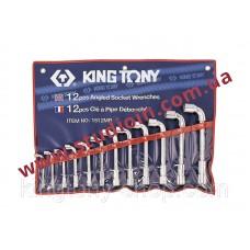 Набор ключей Г-образный 12шт. 8-24 мм..