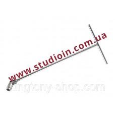 Ключ торцевой с карданом длинный T-образный  8 мм..