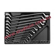 Ключи накидные (комплект) в ложементе  6-32 мм...