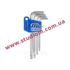 10PC.LONG ARM WITH BALL POINT TYPE 1.27~10MM CHROME..