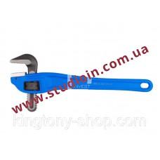 Алюминиевый коленчатый трубный ключ. 90°. длина 18